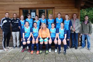 Bild der Damenmannschaft des SV-Neufraunhofen