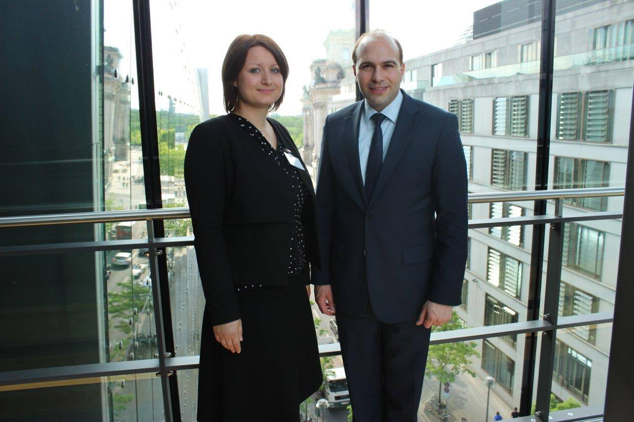 Theresa Dybek und Florian Oßner